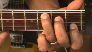 guitar guitar chord tutorial 42 how to play chords capo 3 am7 fmaj7 c g6 b
