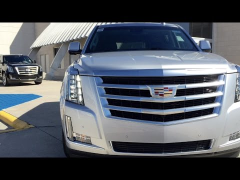 2016 Cadillac Escalade SUV /Full Review / Exhaust /Start Up