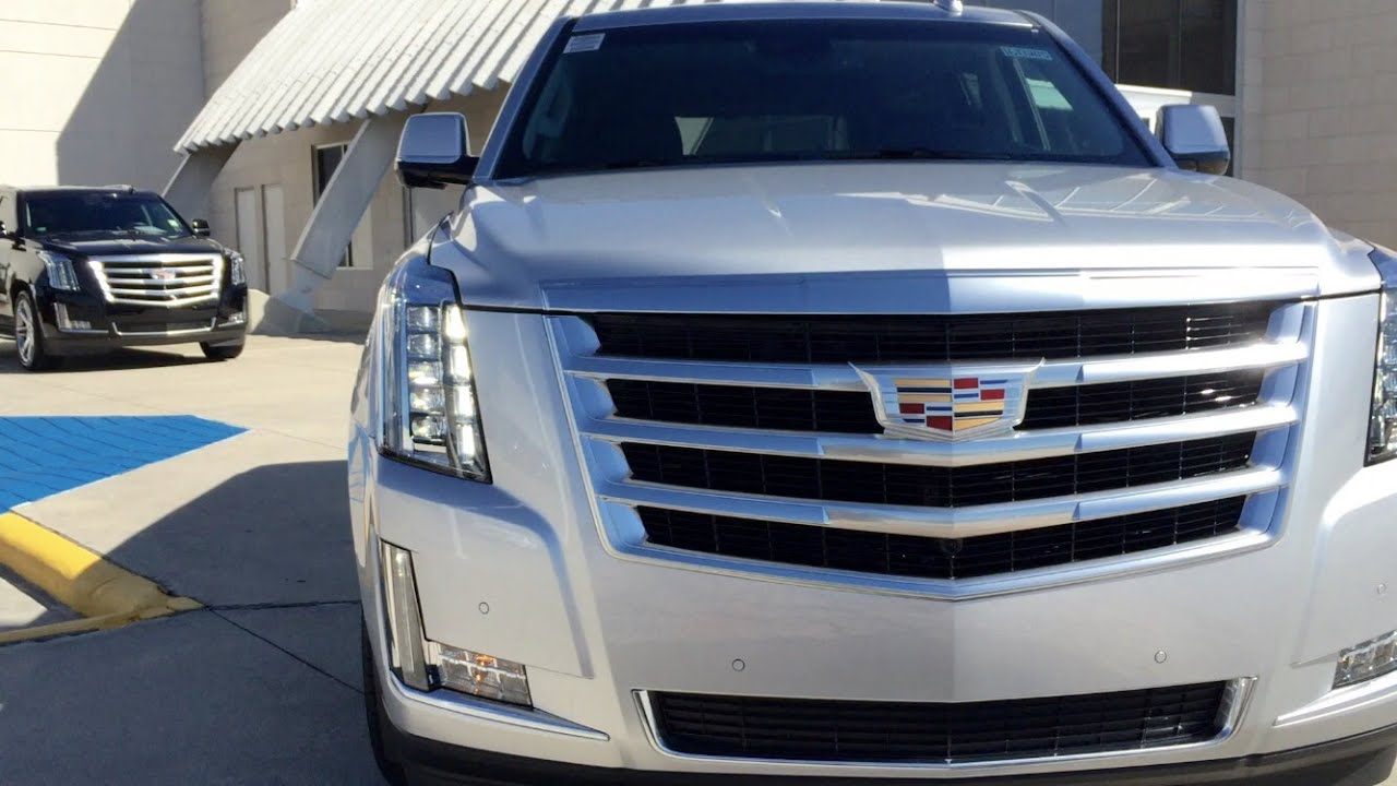 Cadillac Escalade Suv Full Review Exhaust Start Up Youtube