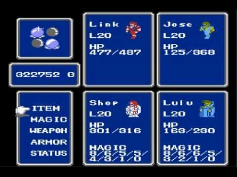 Final Fantasy 1: Class Change