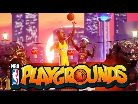 NBA Playgrounds - Insane Aaron Gordon Dunks! (Gold Pack Opening!)