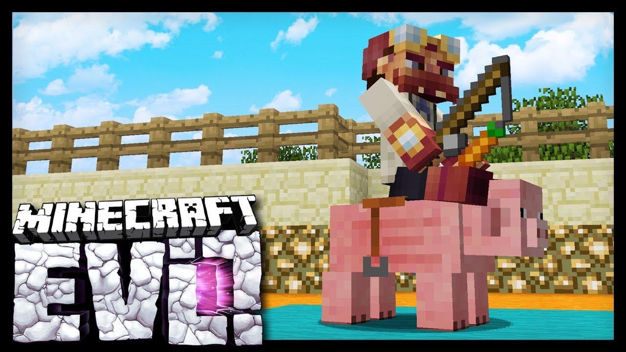 BETTING ON PIG RACES Minecraft Evolution SMP YouTube - Minecraft namen andern anyart