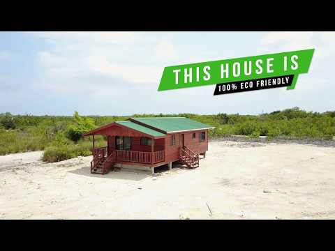 Eco Friendly Off Grid Home in BELIZE - Secret Beach