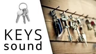 Rattling keys sound effect