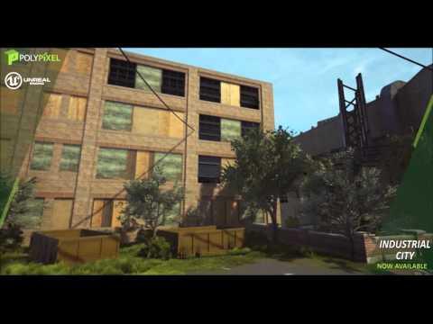 Industrial City - Unreal Marketplace