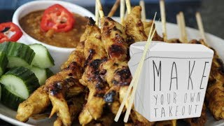 Home-made Chicken Satay - Make Your Own Take-out