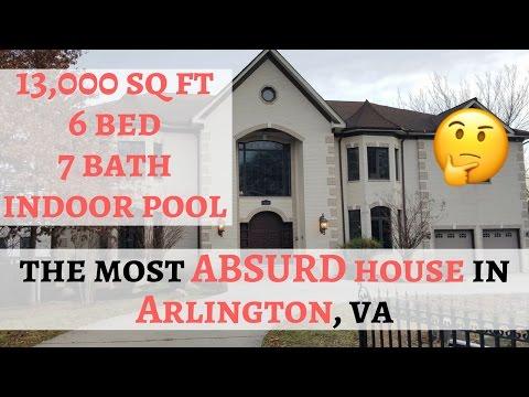 The Most Absurd House in Arlington VA -  3120 N Pershing Drive Arlington, Virginia