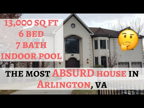 The Most Absurd House in Arlington VA -  3120 N Pershing Drive Arlington, Virginia