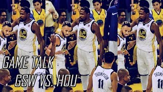 Game Talk- Warriors Blow Out The Rockets!!!(GSW vs. HOU)