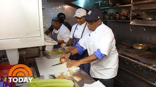 Al Roker Fulfills Childhood Dream Of Becoming A Chef | TODAY