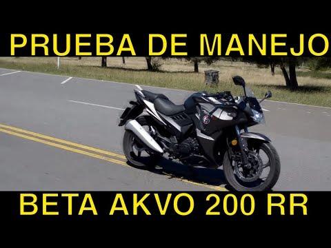 Beta AKVO 200 RR Review a fondo test ride prueba de manejo test drive