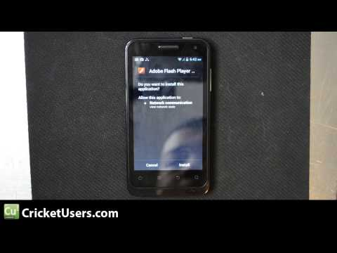CricketUsers.com - Cricket Wireless ZTE Engage V8000 Flash Installation and Demonstration