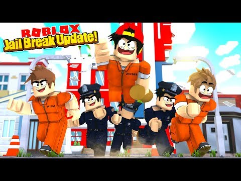 ROBLOX - JAIL BREAK UPDATE - YOU CAN FLY?