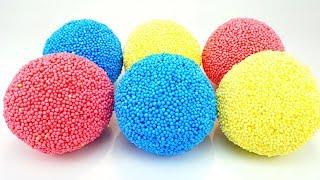 Сюрпризы из шарикового пластилина, распаковываем Сюрпризамалс
