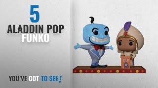 Top 10 Aladdin Pop Funko [2018]: Funko Pop Disney: Movie Moment: Aladdin Genie Collectible Figure,