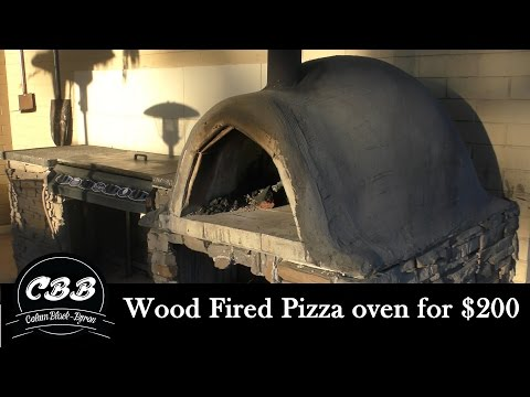 Diy Wood Fired Pizza Oven For 200 Youtube