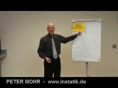 Info-Film zum Präsentationstrainer PETER MOHR