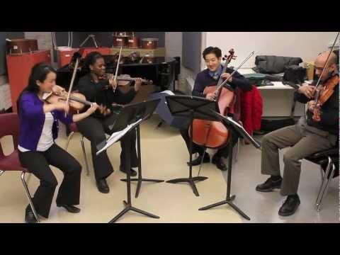 Afiara String Quartet @ The Royal Conservatory of Music Toronto