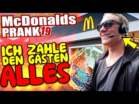 mcdonalds prank fail ich bezahle alles im ferrari. Black Bedroom Furniture Sets. Home Design Ideas