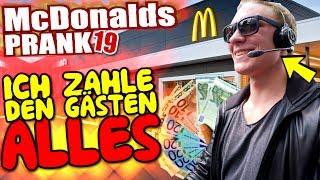 McDonalds PRANK FAIL! ICH BEZAHLE ALLES im Ferrari! - McDonalds Roulette