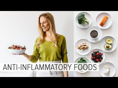 ANTI-INFLAMMATORY FOODS   what I eat every week