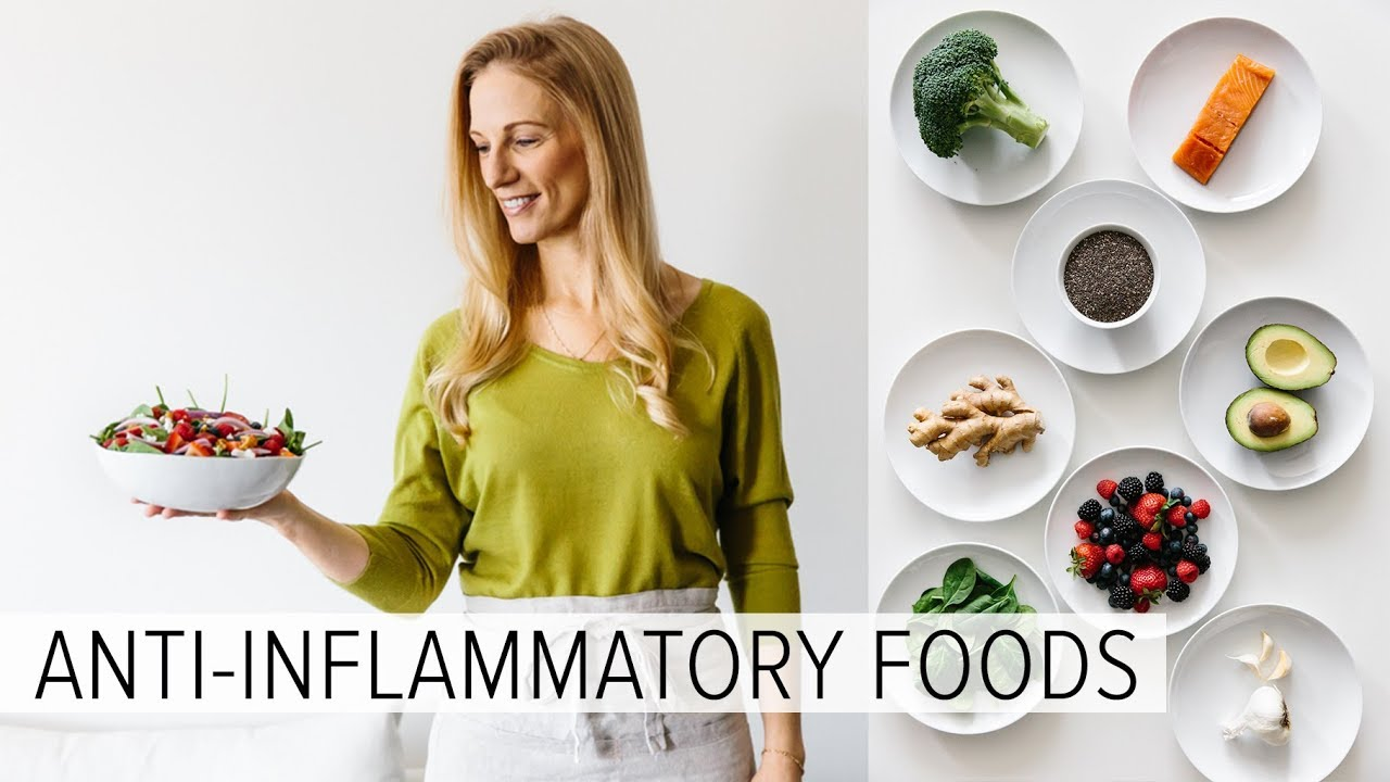 ANTI-INFLAMMATORY FOODS | what I eat every week