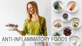 These are the anti-inflammatory foods i eat every week to reduce inflammation in my body. an diet can help with reducing joint pain and art...