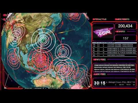 8/08/2017 -- Okinawa Japan + Guam -- Earthquakes strike as expected -- US military be prepared