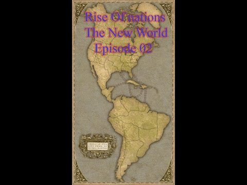 Let's Play Rise Of Nations The New World Episode 02 Battle Of The Great Lakes