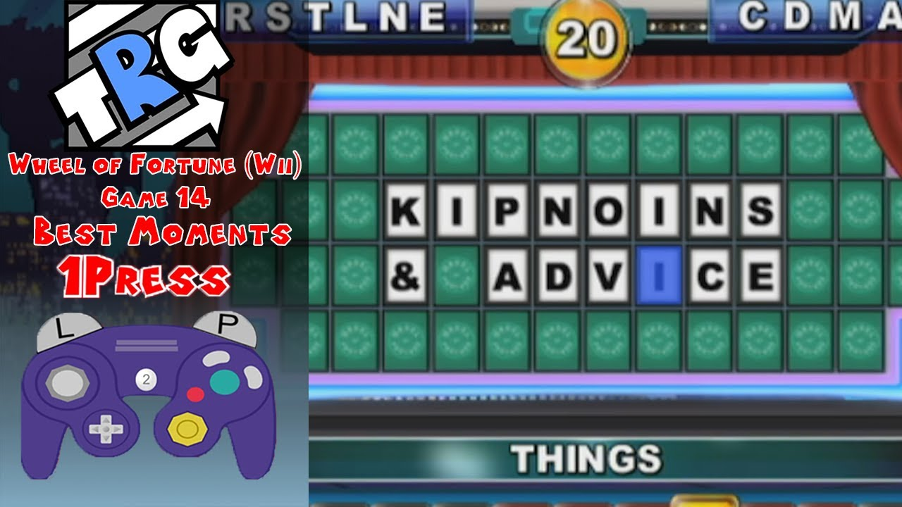 TheRunawayGuys - Wheel Of Fortune (Wii) - Game 14 Best Moments