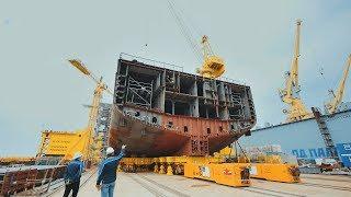 Как строят суда на ССК «Звезда»