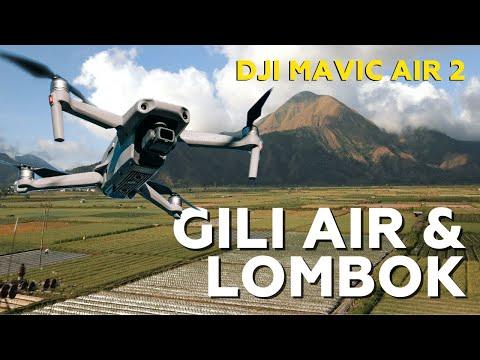 Aerial Footage of GILI AIR, LOMBOK Indonesia - DJI MAVIC AIR 2 [4K]