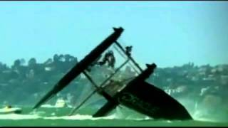 One of World's Fastest Sail Boats Capsizes in California