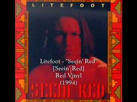 "Litefoot - ""Seein' Red"" (OOP)"