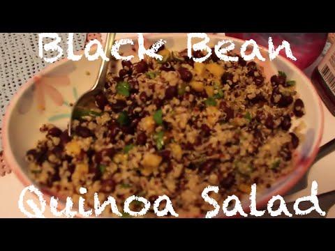 Recipe: Vegetarian Quinoa Black Bean Salad with Citrus Dressing-VEGAN