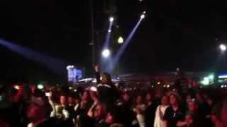Die Toten Hosen - Wort Zum Sonntag - Rock im Park 2012 - 02/06/2012 - Campino Crowdsurfing