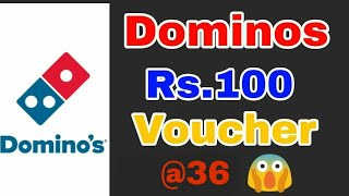 How To Get ₹100 Domino's Voucher in Just ₹36 || Unlimited Trick Available || Limited Time Offer