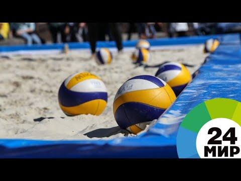 Россияне Красильников и Стояновский выиграли ЧМ по пляжному волейболу