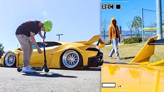 Taking My 1000HP Lamborghini To The Skatepark!