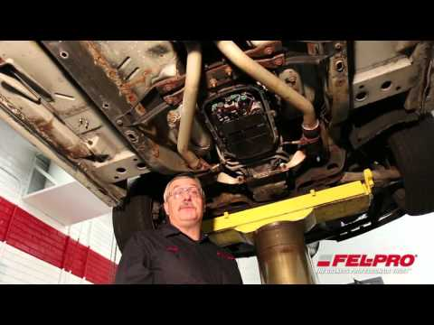 Transmission Pan Gasket Installation (2003 Cadillac CTS)