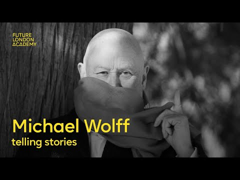 Wolff Olins Founder Michael Wolff Telling Stories
