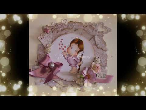 La Santa Cresima Di Matilde - Idee Bomboniera - Card By Marzia Fappani