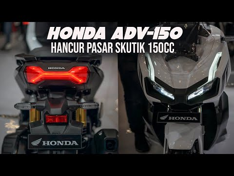 FULL REVIEW HONDA ADV-150 | KEREN PARAH CAK [GIIAS 2019]