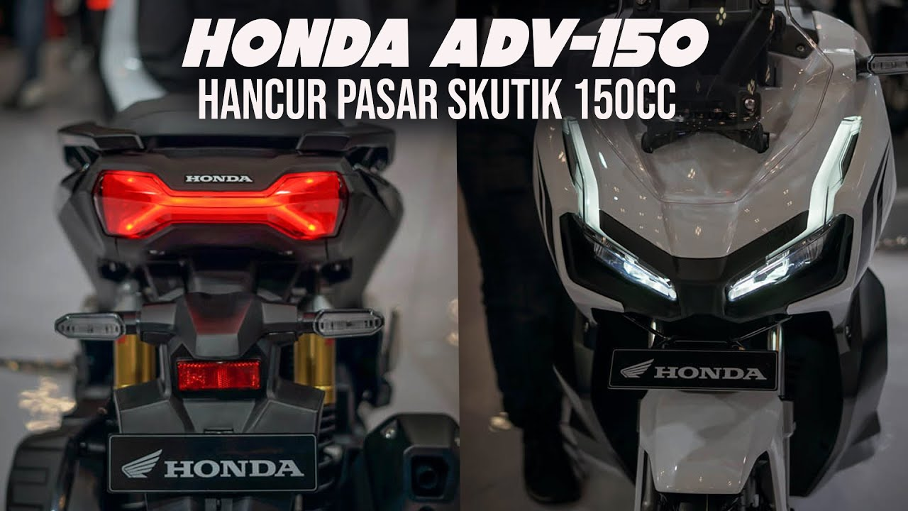 FULL REVIEW HONDA ADV150  KEREN PARAH CAK GIIAS 2019