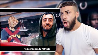 Reacting To @Slim Albaher  Diss Track On Deji!!!! *ROASTED KSI'S LIL BRO*
