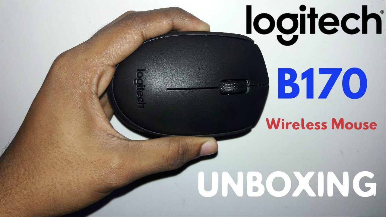 Logitech B170 | Wireless Mouse | Unboxing - YouTube