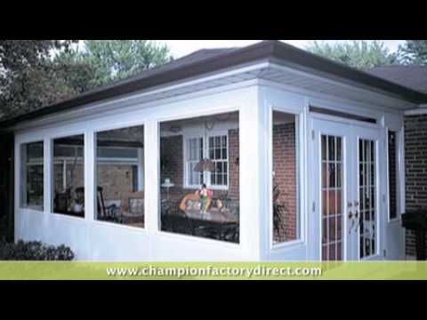 Champion Windows Siding Amp Patio Rooms Youtube