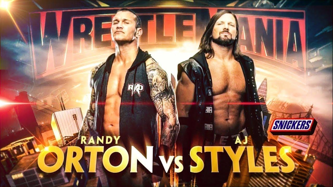 Randy Orton vs AJ Styles Promo | WWE Wrestlemania 35 (I Got 5 On It - Us Tribute)