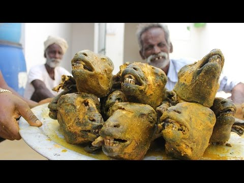 KING of GOAT HEADS / Using 10 Goat Heads / Prepared by my Daddy