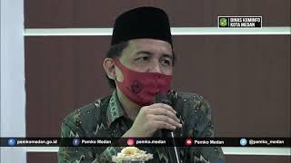 Pemko Medan Minta Masukan Kepada Keluarga Besar Al Jamiyatul Washliyah Dalam Penanganan Covid-19
